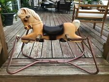 Vintage Wonder Products  Bouncy Rocking Horse 1950-60's NICE