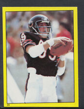 Topps 1982 American Football Sticker No 24 - Ken Margerum, Chicago Bears (T58)