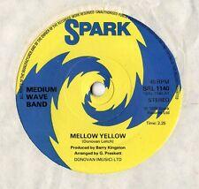 "Medium Wave Band - mellow Yellow 7"" Single 1976"