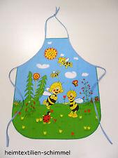 Kinder Schürze Kochschürze Backschürze Küchenschürze Kinderwerkschürz BIENE MAJA