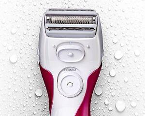 Panasonic Women Hair Removal Machine Shaver Female Facial Body Leg Trimmer White