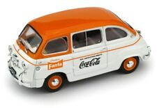 FIAT 600D MULTIPLA 1961 FANTA - COCA COLA   BRUMM R648