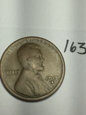 1913-S LINCOLN WHEAT CENT, rare date, #163