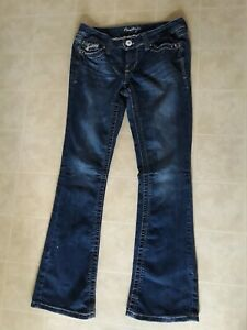 Amethyst Womens Boot Cut  Jeans Size 7