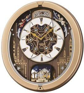 Seiko Clocks Musical Marionette Wall Clock QXM350G