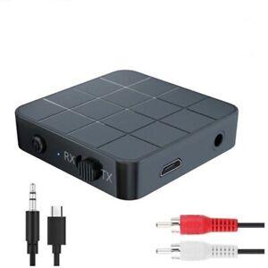 Bluetooth Transmitter Empfänger Sender Audio Receiver TV Aux Klinke Auto Z216