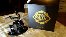 """World of Warcraft 10 Year Anniversary Statue """" Orc"""" in original box Collectible"""