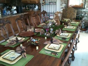 DREXEL HERITAGE DINING ROOM SET - TAVOLA COLLECTION