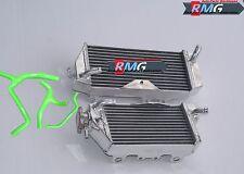Aluminum Radiator For 2009-2012 Kawasaki KXF450  KX 450F KX450F 2010 11 + Hoses