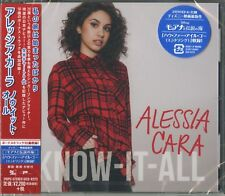 ALESSIA CARA-KNOW-IT-ALL-JAPAN CD BONUS TRACK E78