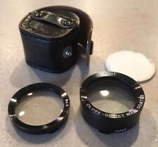Uniphot close up set no. 3 coated for Rolleiflex?