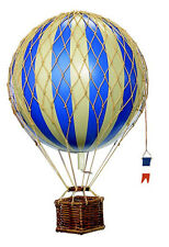 AUTHENTIC MODELS HOT AIR BALLOON BLU MOBILE 18 cm