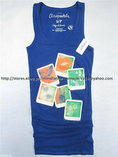 75% OFF! AUTH AEROPOSTALE WOMEN'S BLUE PICTURES BOYTANK SMALL BNWT US$ 22.5+