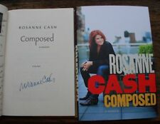 SIGNED! Rosanne Cash 'Composed' 1/1 + extra