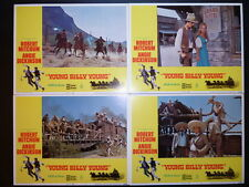 1969 YOUNG BILLY YOUNG -NM 8 LC SET- WESTERN MITCHUM