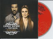 LIONEL RICHIE ft NATALIA - angel CD SINGLE CARD 2012 NEW!! BELGIUM