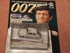 James Bond VOLKSWAGEN Beetle avec MAGAZINE Nº 74