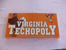 Virginia Techopoly~Property Trading Board Game~New & Factory Sealed!