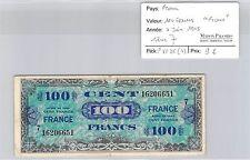 "BILLET FRANCE (TRÉSOR) - 100 FRANCS ""FRANCE"" - 4 JUIN 1945 - SÉRIE 7"