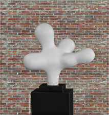 """Moderno Escultura """"LA Bosse """" en Mate Blanco Mármol Galerie columna de"""