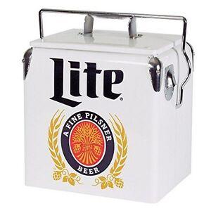 Koolatron Miller Lite 13 Liter Ice Chest Cooler Mlvic-13