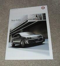 Vauxhall Astra H Brochure 2004 Club SRI 1.6 SXI Design Elite 2.0 Turbo 1.7 CDTI