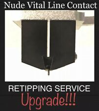 Cartridge Retipping: Denon DL-103 DL-103R Moving Coil Nude Vital Line Contact
