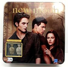 The Twilight Saga New Moon The Movie Board Game W Collectible Metal Cullen Crest