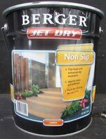 BERGER BY DULUX 10 LITRE JET-DRY PAVING FLAT NON-SLIP OIL AMBER COLOR PAINT