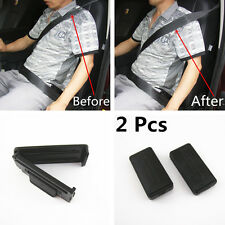 2PcsChic Smart Seatbelt Adjuster Clip Buckle Shoulder Relax Neck Comfort Support