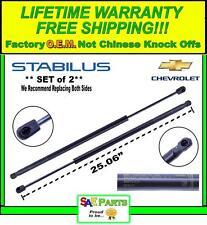 *NEW* - 2 Set OEM Chevy Front Hood Lift Shock Strut Support Prop Rod 25876306