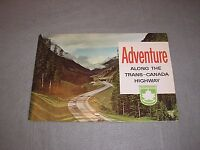 Adventure Along Trans-Canada Highway Travel Tourism Illustrated Book Maps 1960s