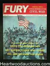 Fury May 1961 Special Civil War Issue - High Grade