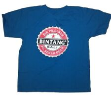 Bintang Bali Pilsner Beer T-Shirt Blue Size Large or XL