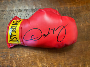 Oscar De La Hoya Signed Mini Boxing Glove Psa Dna COA Autographed Everlast
