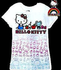 Hello Kitty! 40th Anniversary! T Tee Shirt Top Glittery! Strawberry! Joey Mouse!