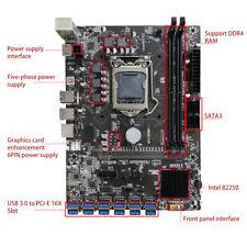 B250C BTC PCI Express DDR4 Computer Mining Motherboard for LGA1151 Gen6/7