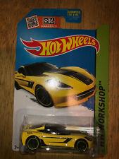 Hot Wheels 2015 '14 Corvette Stingray #233 HW Workshop