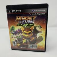 Ratchet & Clank: All 4 One Sony PlayStation 3 PS3 Game No Manual Tested