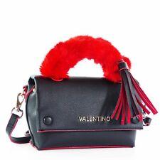 20dc51839bc42e Valentino Notorius Damen Handtasche Schultertasche Abendtasche, Schwarz Rot