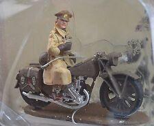 NORTON 16H 1944 MILITARY MOTORBIKE BRITISH ARMY MILITARY POLICE 1:32 BM04 METAL