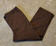 Jones New York Womens Brown Dress Pants Size 10 Short Career slacks Trousers EUC
