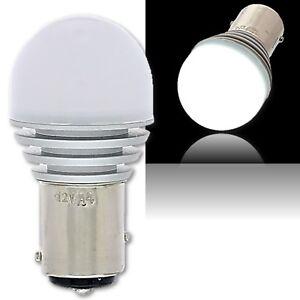 #1157 White LED 12V Park Tail Light Brake Stop Turn Signal Lamp Bulb EACH 7.5