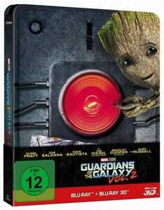 """GUARDIANS OF THE GALAXY VOL. 2"" - MARVEL SciFi Kult - 2D + 3D BLU RAY STEELBOOK"