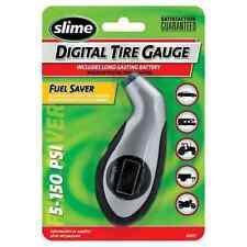 Slime Digital Sports Gauge Bikes Cars Motorbike Tyre Pressure Gauge 5-150 PSI