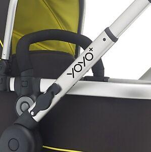 YOYO Replacement pram logos. Vinyl decal pushchair, stroller. Transfer sticker