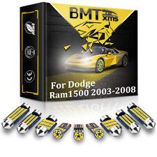 13x White Led Interior Light Package Kit For 2003 2008 Dodge Ram 1500 2500 3500