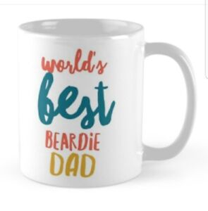 BEARDED COLLIE GIFT IDEA MUG PRESENT FOR LOVERS OF THE BREED