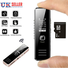 More details for 32gb rechargeable digital audio/sound/voice recorder dictaphone mp3 player usb
