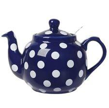 Now Designs London Pottery Farmhouse Cobalt Teapot 4-Cup (LP78494)